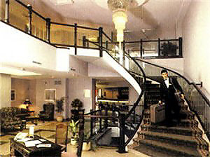 Lobby and stairs view