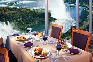 View the Falls while dining